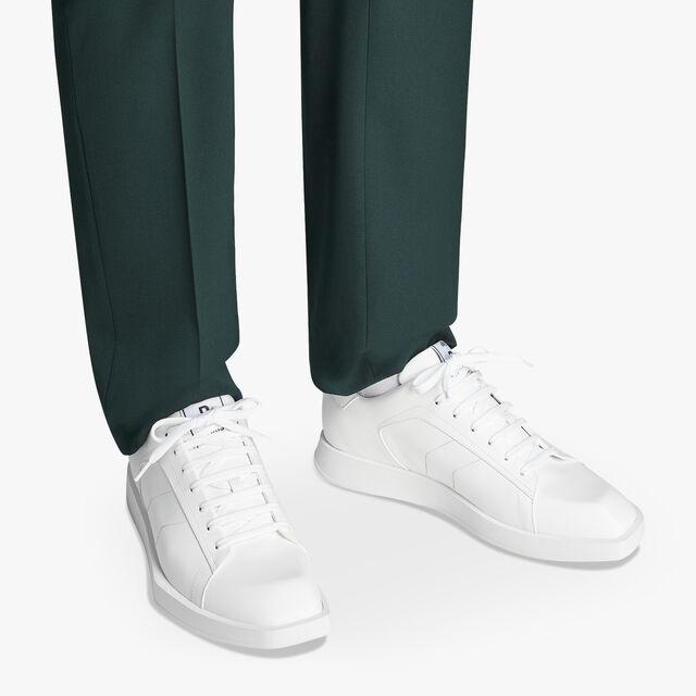 Stellar 小牛皮运动鞋, WHITE, hi-res