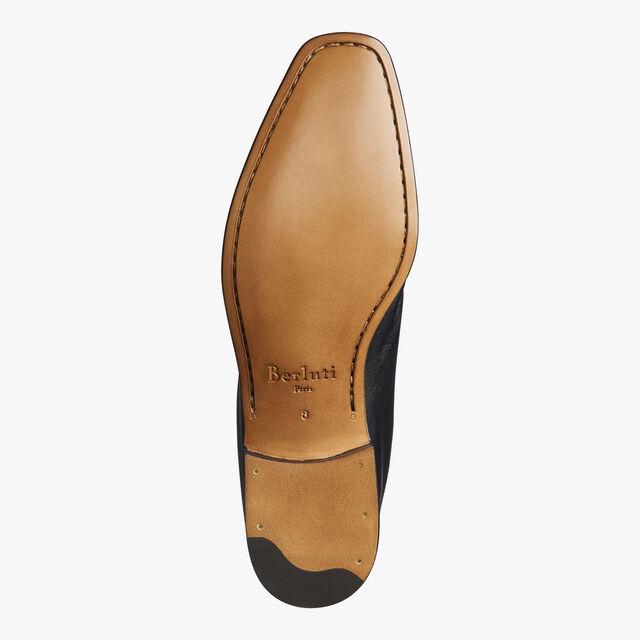 Lorenzo Kangaroo Leather Loafer, NERO, hi-res