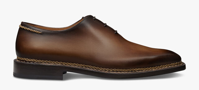 Alessandro Demesure Norwegian Leather Oxford, EARTH BROWN, hi-res