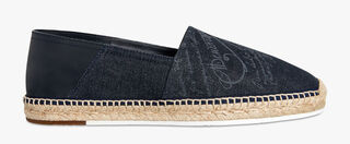 Iban Biarritz Denim Espadrille, DENIM, hi-res