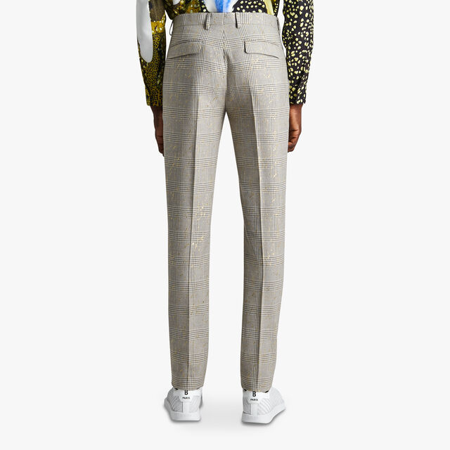 Alessandro Prince Of Wales Trousers, GOLD NUGGET, hi-res