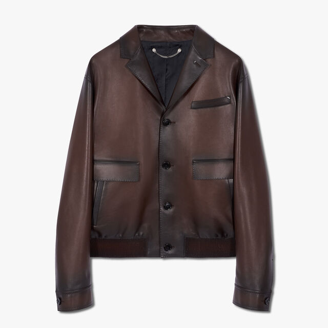 Patina Leather Blouson