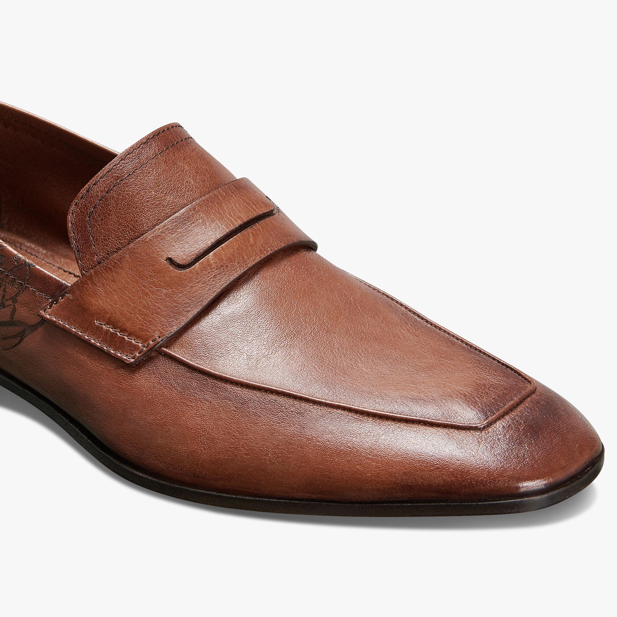 Lorenzo Rimini Kangaroo Leather Loafer
