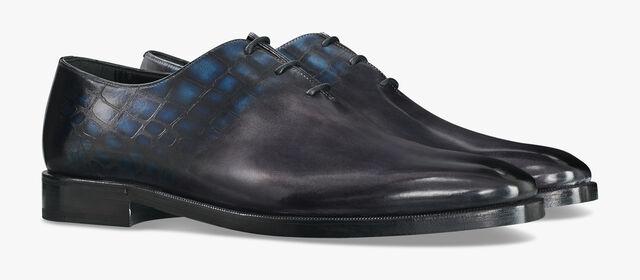Alessandro Demesure Patina Illusion皮革牛津鞋, DEEP ROTHKO, hi-res