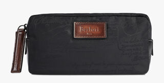 Croquis Nylon Wash Bag, NERO, hi-res