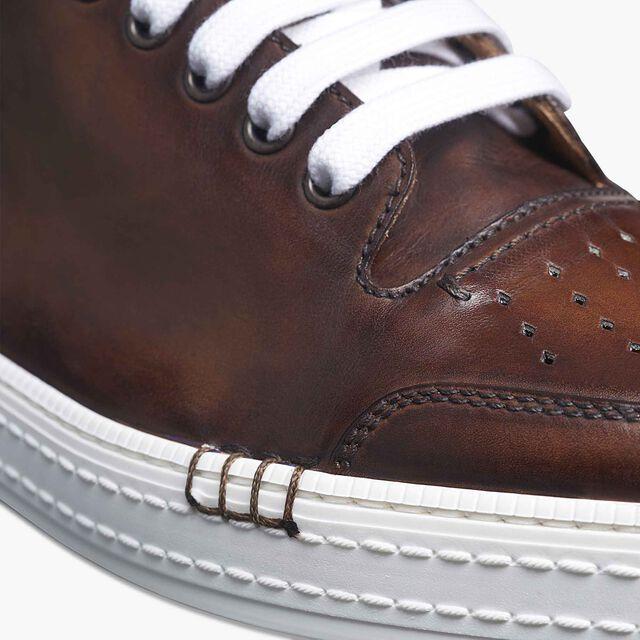 Playtime Leather Sneaker, MOGANO, hi-res