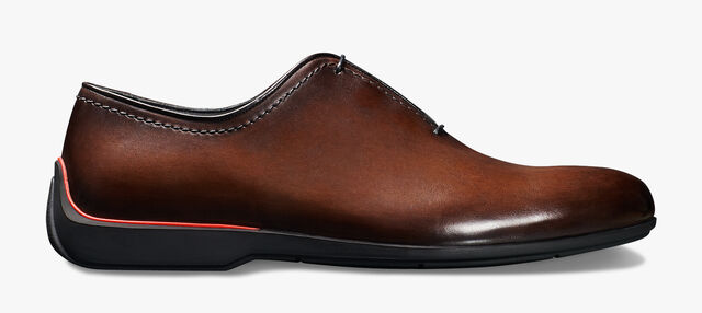 Ferrari Calf Leather Oxford - In-Store Exclusive, BRUN, hi-res