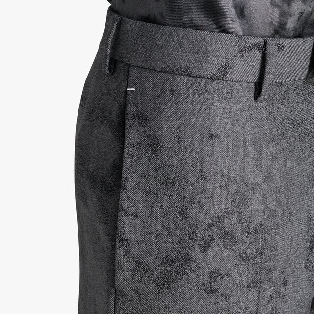 Pantalon Formel En Laine Marbre - Coupe Regular, FERRO, hi-res