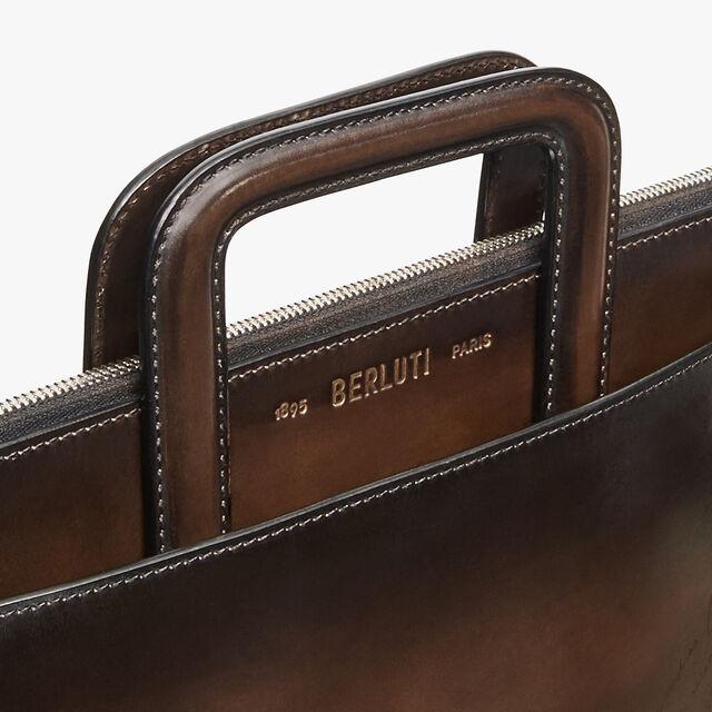 Lift Scritto Calf Leather Briefcase, TDM INTENSO, hi-res