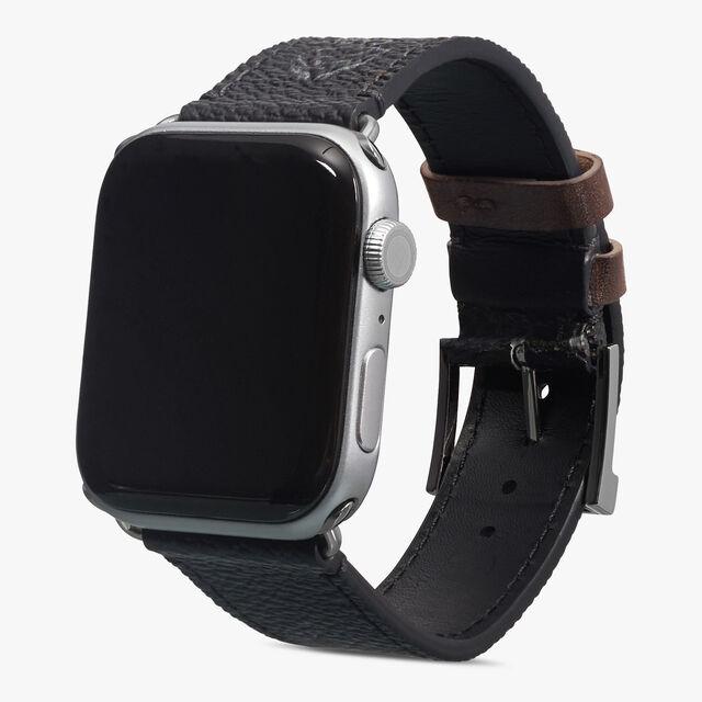 Signature Canvas and Venezia Apple Watch Bracelet , BLACK+TDM INTENSO, hi-res