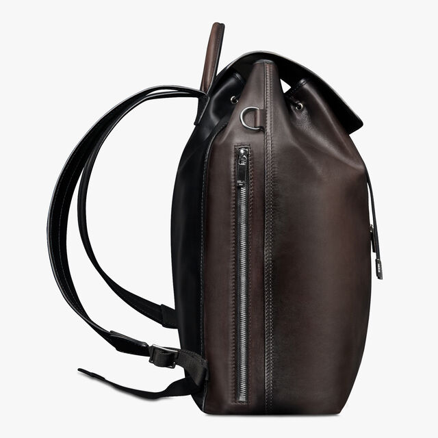 Day Out Scritto Leather Backpack, ICE BLACK, hi-res