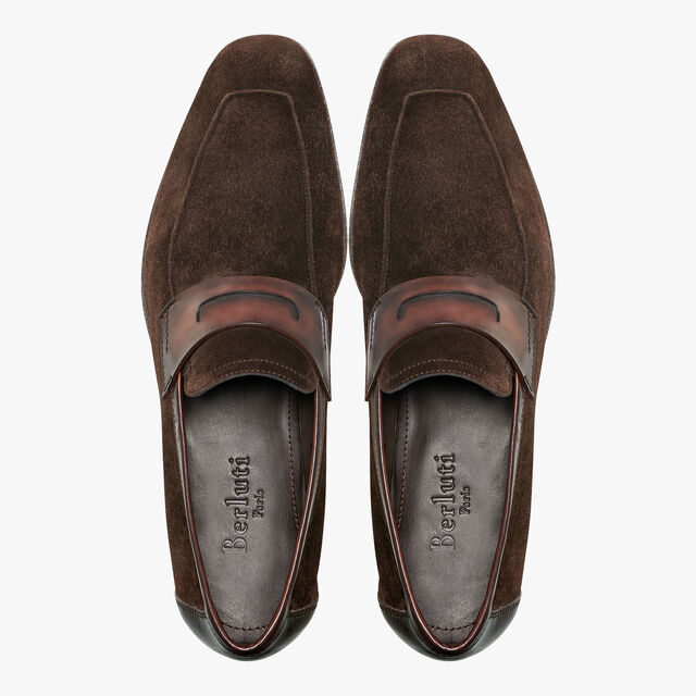 Lorenzo Rimini Suede and Calf Leather Loafer, TDM, hi-res