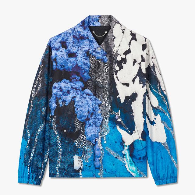 Brian Rochefort Printed Silk Jacket