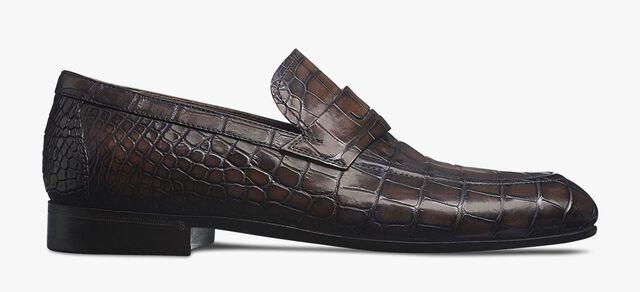 CARLO COMO 鳄鱼皮乐福鞋, TDM, hi-res