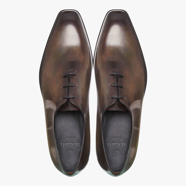 Alessandro Demesure Leather Oxford, ICE BROWN, hi-res