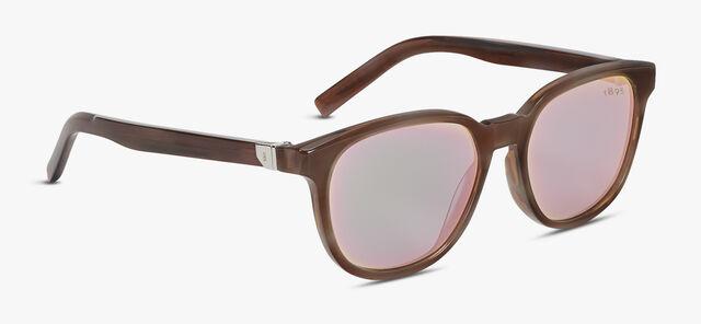 Zenith Acetate Sunglasses, ICE BROWN + BROWN, hi-res