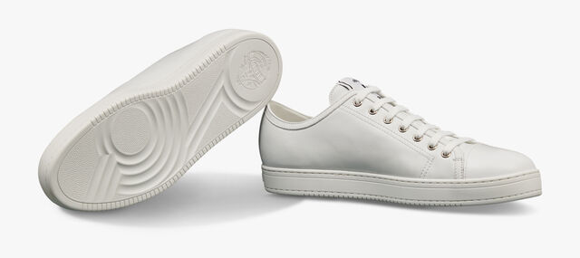 Playtime Leather Sneaker, WHITE, hi-res