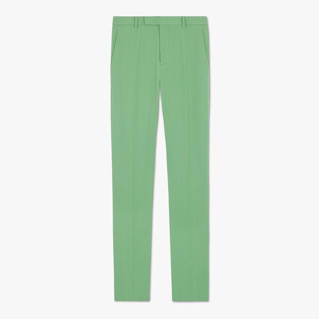 Formal Virgin Wool Pants, SAGE, hi-res