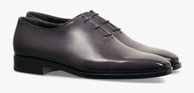Limited Edition Alessandro Zero Cut Calf Leather Oxford, DEEP BLACK, hi-res