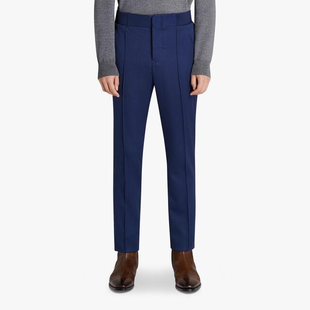 Tailoring Wool Joggers, BLUE MARINE, hi-res