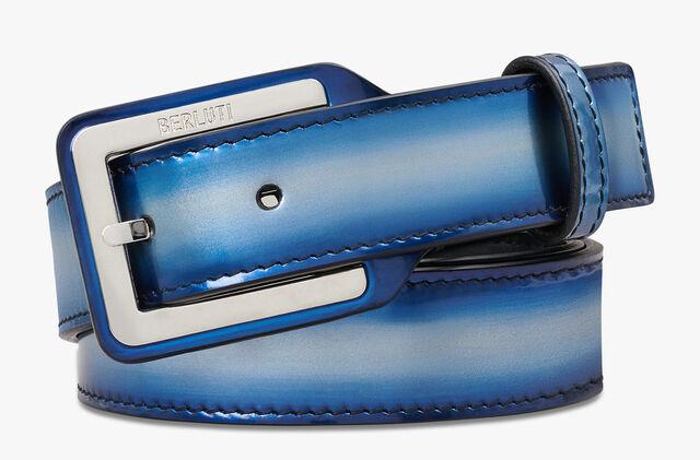Incrustee Leather Belt - 30 mm