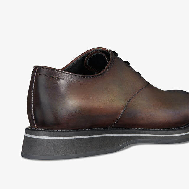 Alessio Leather Oxford, ICE BROWN, hi-res