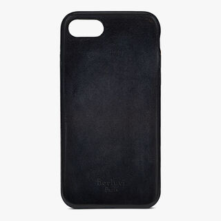 iPhone 7 Leather Case, NERO GRIGIO, hi-res