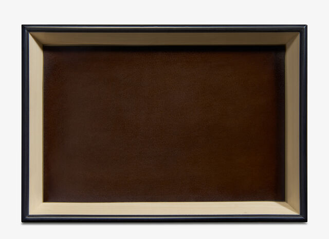 Leather Wood Tray , TDM INTENSO, hi-res