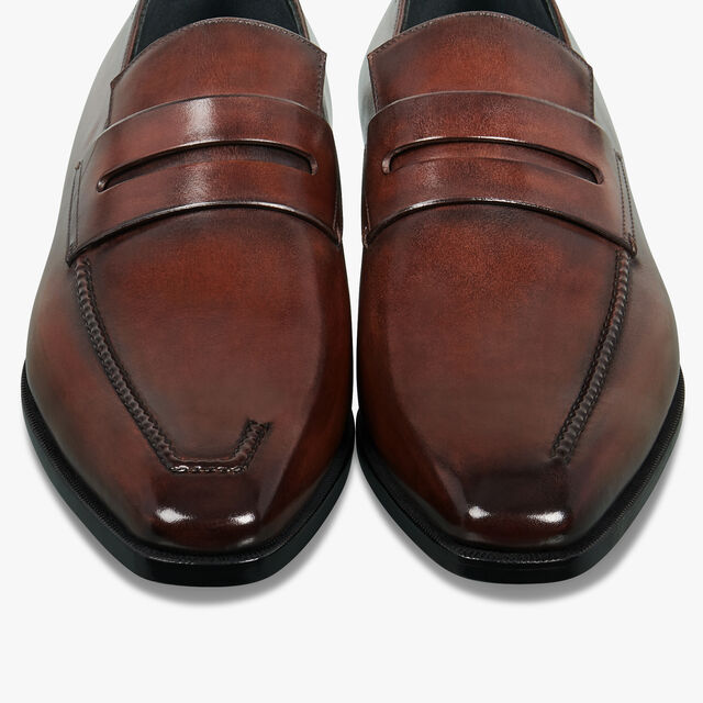 Andy Démesure Leather Loafer, BRUN, hi-res