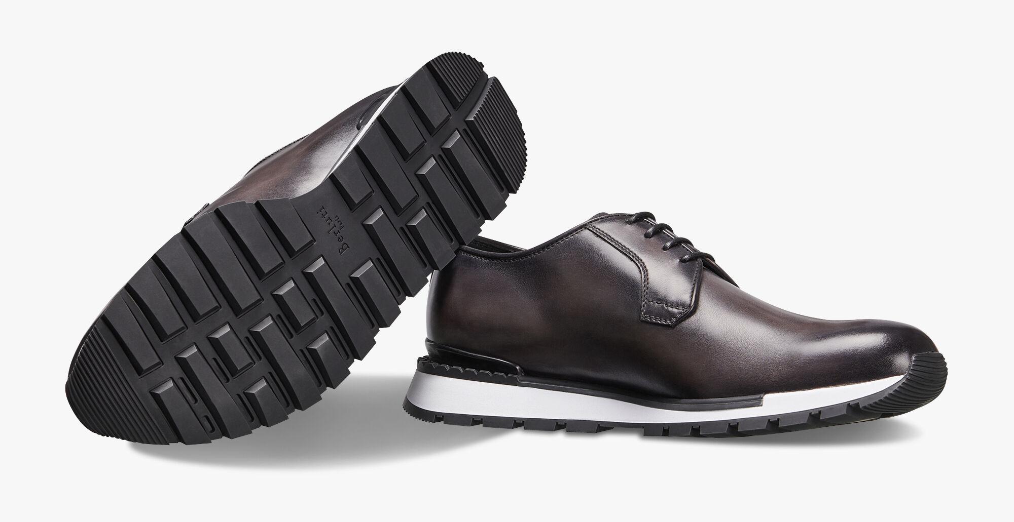 Fast Track Torino Scritto Calf Leather Sneaker Berluti