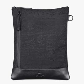 Solo Small Scritto Nylon Messenger Bag