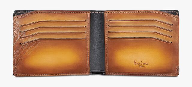 Essentiel Epure Scritto Leather Wallet, ICE GOLD, hi-res