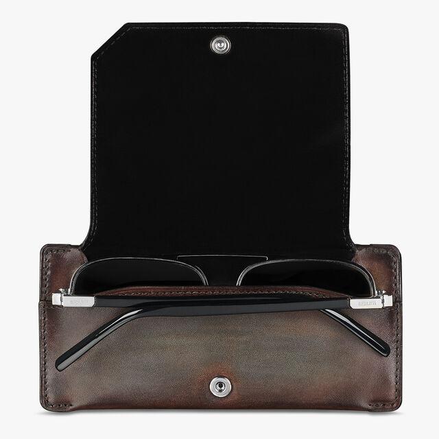 皮质太阳眼镜盒, ICE BROWN, hi-res