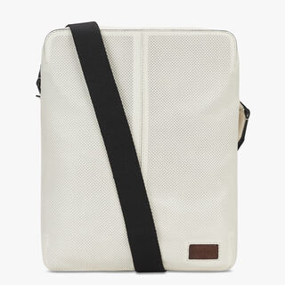 Monolithe Large Leather Shoulder Bag, WHITE IVORY, hi-res