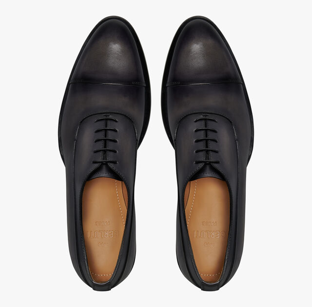 Equilibre Leather Oxford, NERO GRIGIO, hi-res