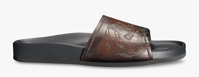 Egio Stamp Leather Sandal, TDM INTENSO, hi-res