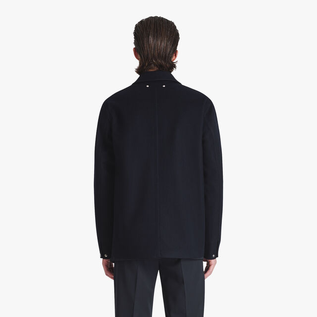 Cashmere Scritto Field Jacket, COSMIC BLUE, hi-res