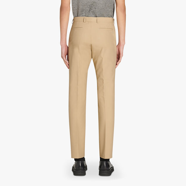 Slim-Fit Cotton Chino Pants, NEUTRON, hi-res