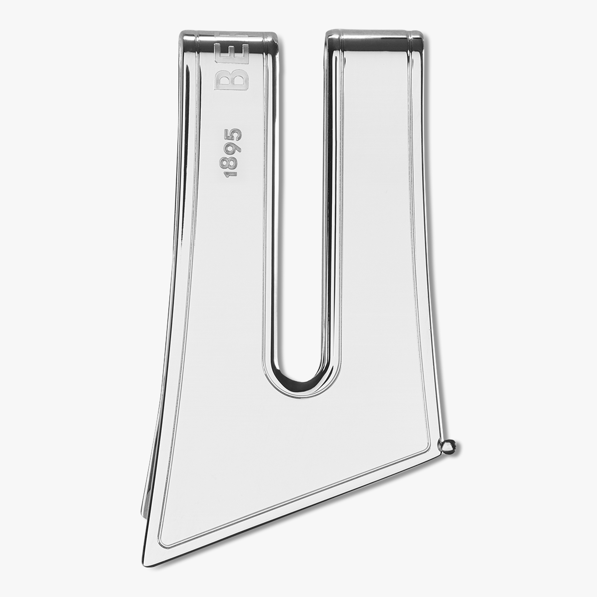 Andy Metal Money Clip, SILVER, hi-res