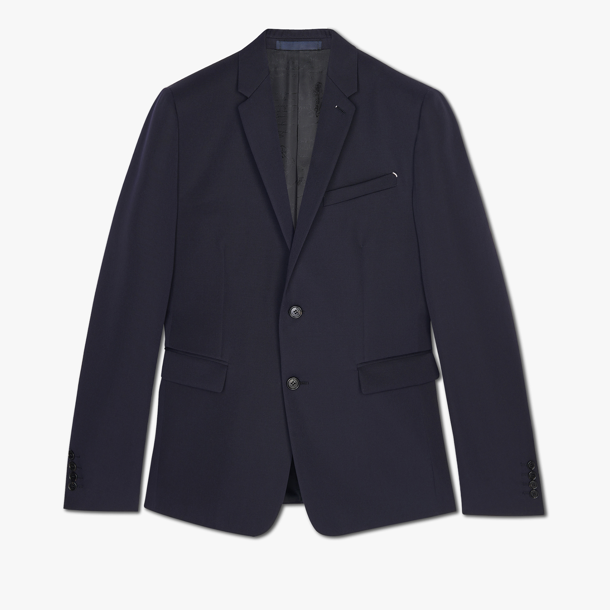 Slim Fit Japanese Wool Suit Jacket, ULTRAMARINE, hi-res