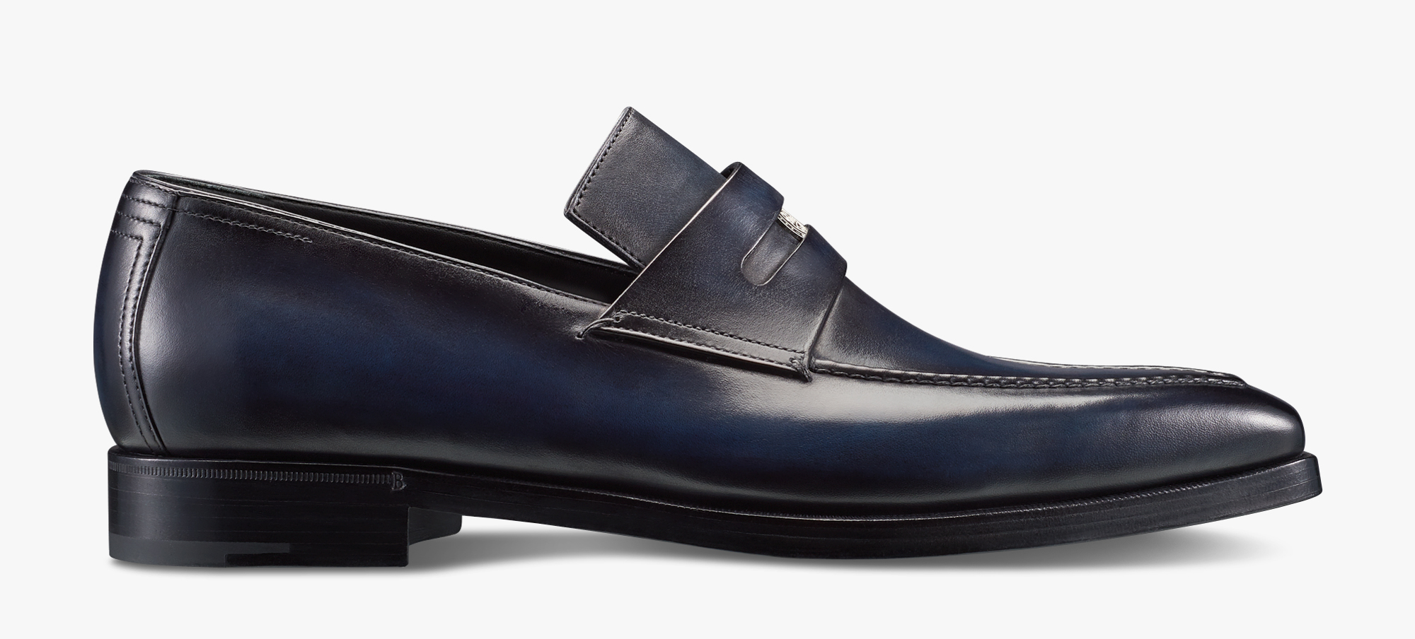 Berluti 125th Anniversary Andy Penny Loafer, DEEP ROTHKO, hi-res