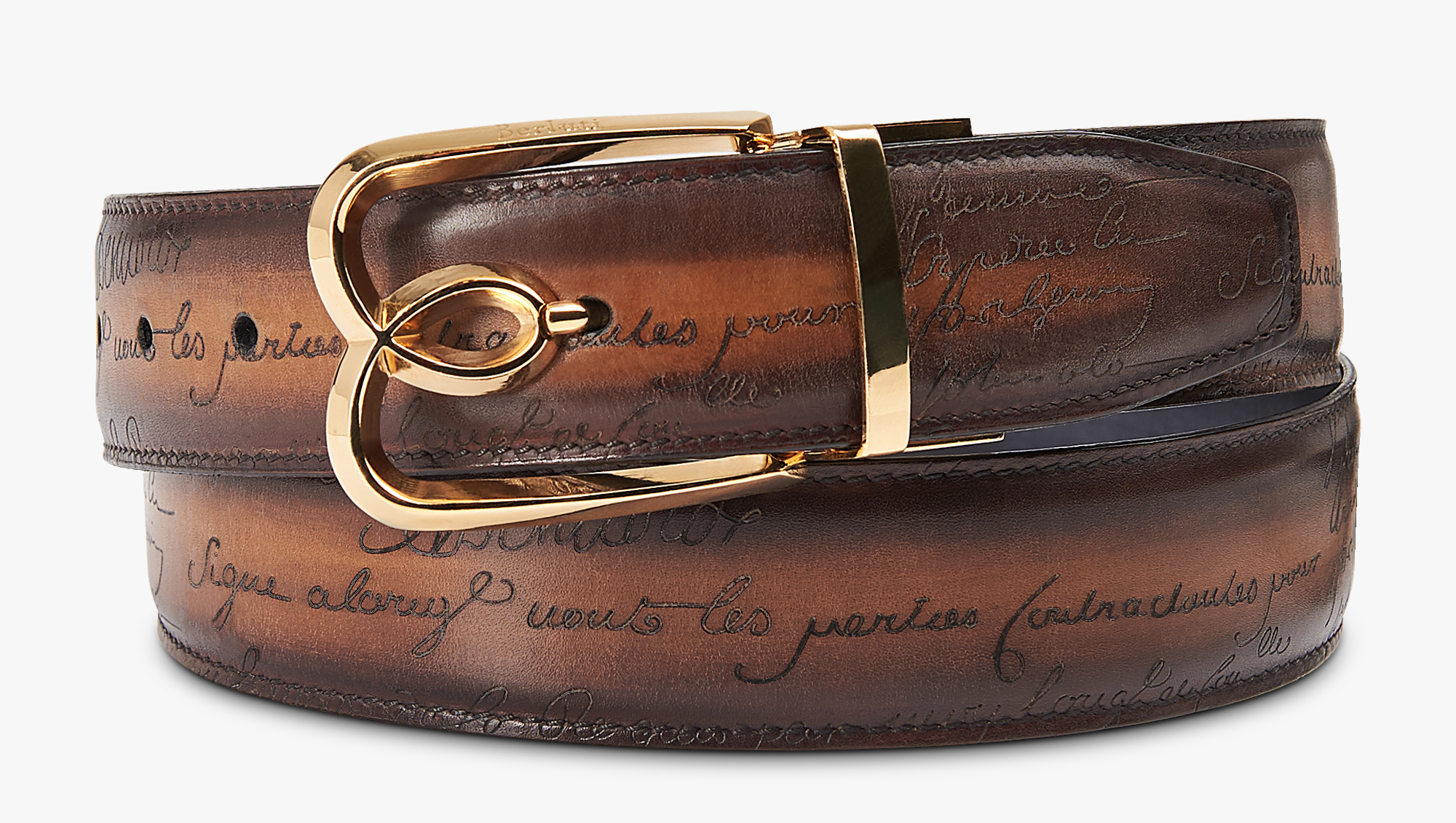 Bulchee Black and Brown 35 mm Reversible Genuine Leather Belt