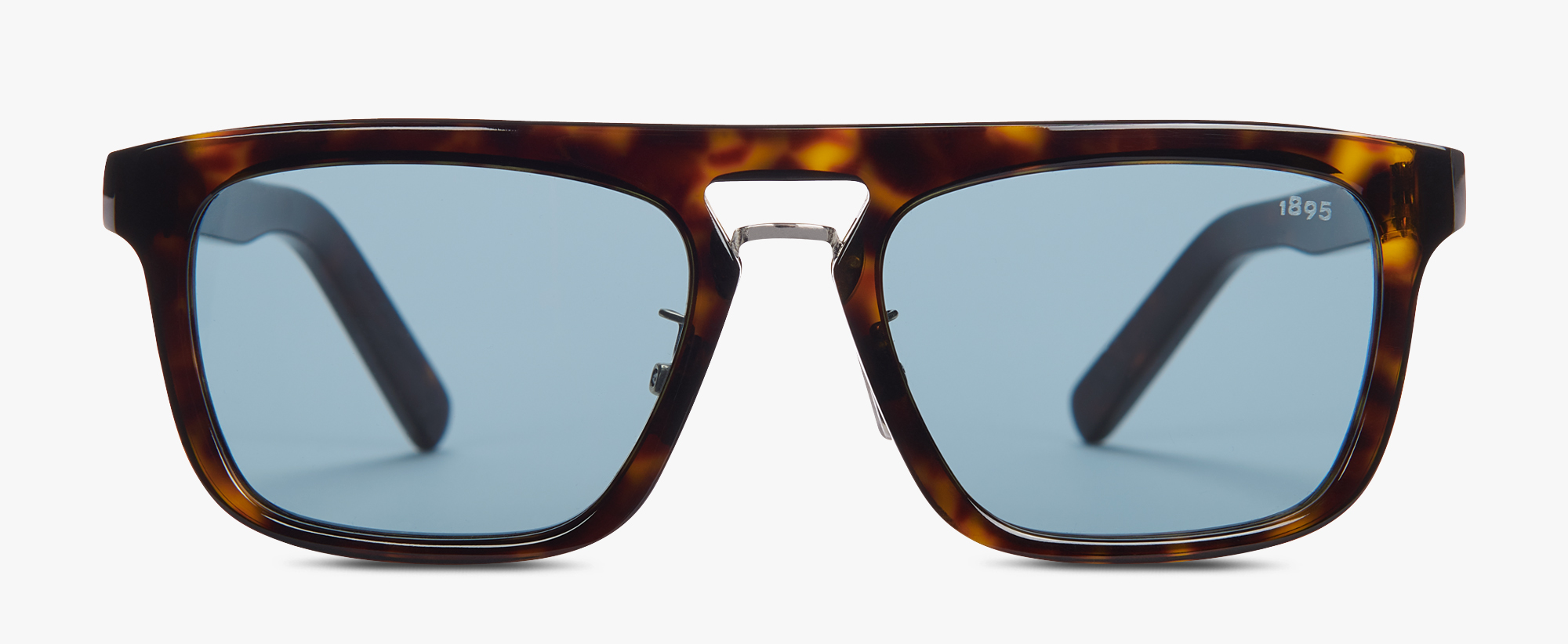 Acetate And Metal Magnetic Eyewear , HAVANA + VINTAGE BLUE, hi-res